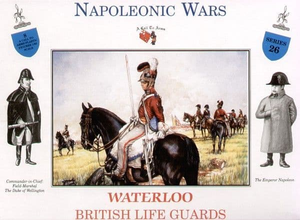 A Call To Arms 1/32 Napoleonic Waterloo British Life Guards # 3226