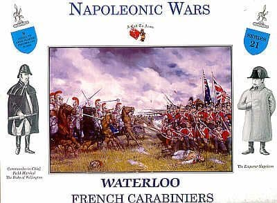 A Call To Arms 1/32 Napoleonic Waterloo French Carabiniers # 3221
