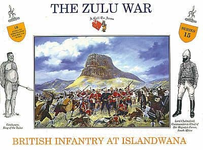 A Call To Arms 1/32 Zulu War British Infantry at Islandwana # 3215