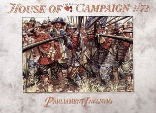 A Call To Arms 1/72 Parliament Infantry # 7263