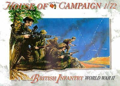 A Call To Arms 1/72 WWII British Infantry # 7252