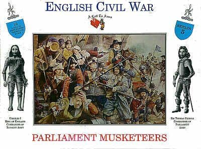 A Call to Arms 1/32 English Civil War Parliament Musketeers # 3205á
