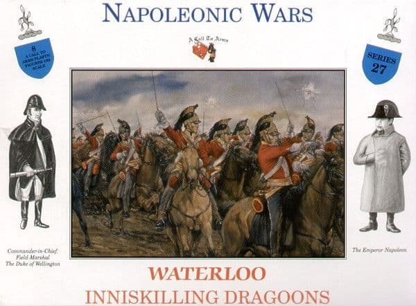 A Call to Arms 1/32 Napoleonic Wars Waterloo Inniskilling Dragoons # 3227
