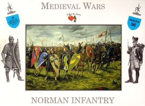 A Call to Arms 1/32 Norman Infantry # 36