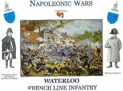A Call to Arms 1/32 Waterloo French Line Infantry # 17