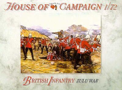 A Call to Arms 1/72 House of Campaign British Infantry Zulu War # 7257