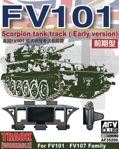 AFV 1/35 FV101 Scorpion Workable Track (Early) # AF35290
