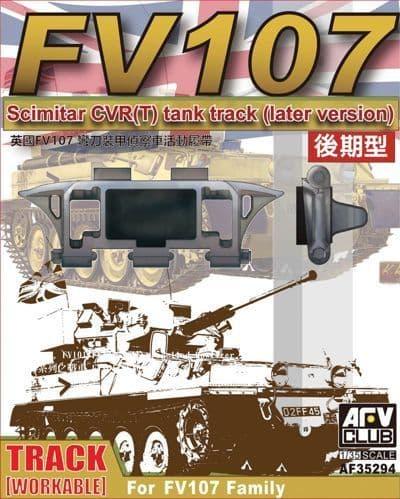 AFV 1/35 FV107 Scimitar Workable Track (Late) # AF35294