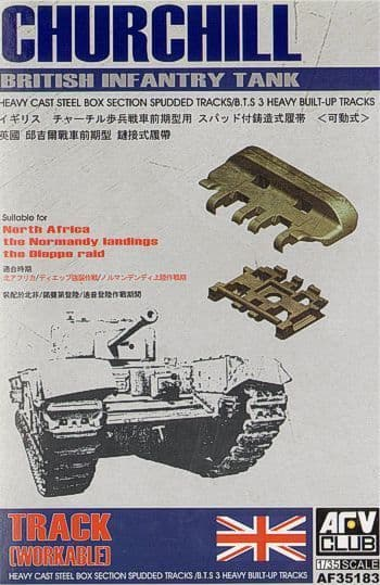 AFV Club 1/35 Churchill Workable Tracks # 35183