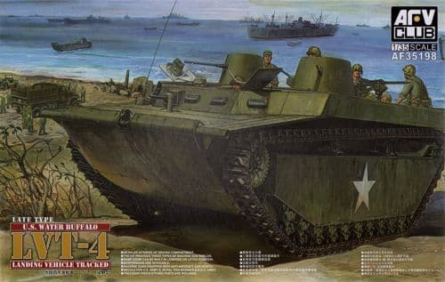 AFV Club 1/35 LVT-4 U.S. Water Buffalo Late Type # 35198