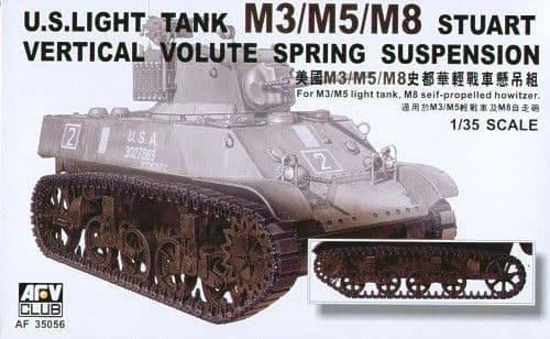 AFV Club 1/35 M3/M5/M8 Stuart VVSS Suspension # AF35056