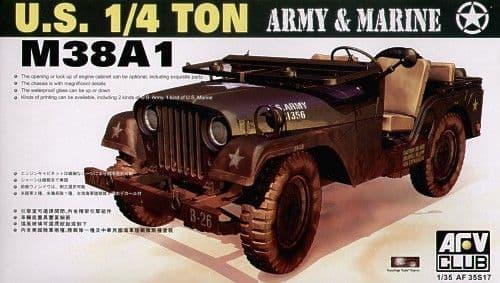 AFV Club 1/35 M38A1 1/4 Ton 4 x 4 Utility # AF35S17