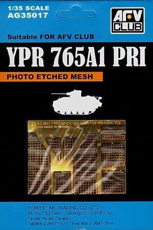 AFV Club 1/35 Mesh for YPR765A1 PRI # AG35017