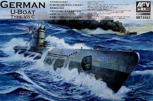 AFV Club 1/350 German U-Boat Type VII C # SE73503