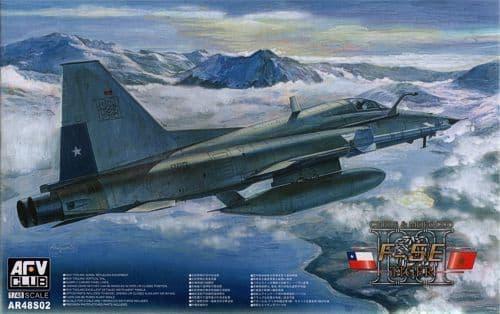 AFV Club 1/48 Northrop F-5E Tiger III Chilean & Morocco # AR48S02