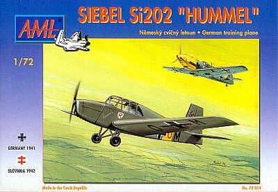 AML 1/72 Siebel Si202 Hummel # 72014
