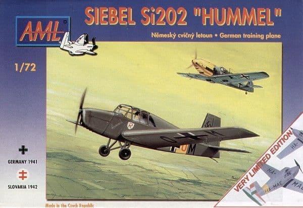 AML 1/72 Siebel Si202 Hummel # 72034