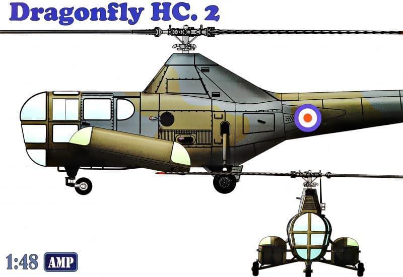 AMP 1/48 Westland WS-51 'Dragonfly' HC.2, Rescue # 48003