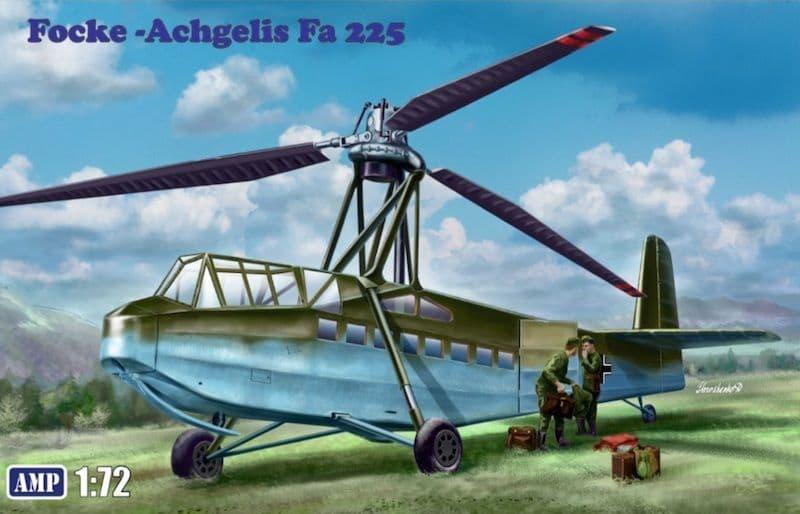 AMP 1/72 Focke-Achgelis Fa-225 # 72001