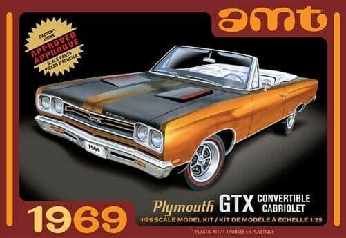 AMT 1/25 1969 Plymouth GTX Convertible Cabriolet # 1137