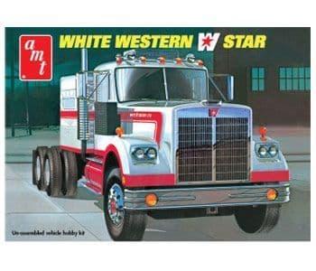 AMT 1/25 White Western Star Semi-tractor # 724