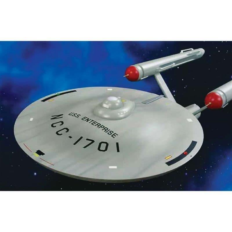 AMT 1/350 Star Trek - TOS USS Enterprise Smooth Saucer # MKA015