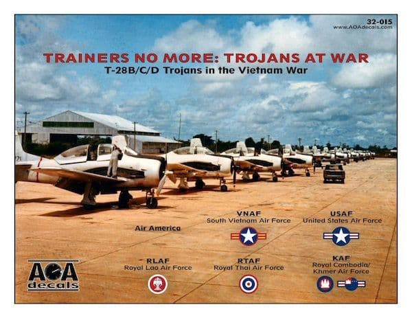 AOA Decals 1/32 Trainers No More: Trojans At War # 32015