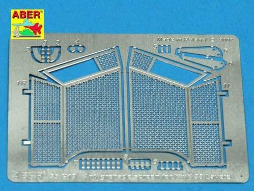 Aber 1/35 Antigranate Screen for KwK 38 Lavete Detailing Set # 35G19