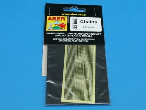 Aber 1/35 Assorted Chains Detailing Set # 35A16