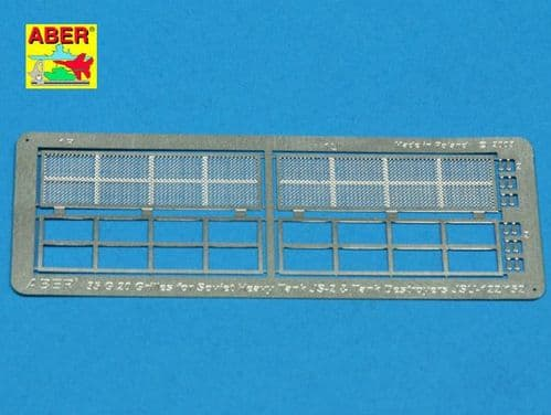 Aber 1/35 Grilles for Jozef Stalin IS-2 or Soviet JSU-122/152 Detailing Set # 35G20