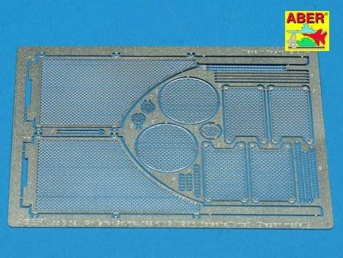 Aber 1/35 Grilles for Pz.Kpfw.VI King Tiger Sd.Kfz.182 (Porshe Turret) Detailing Set # 35G12