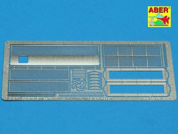 Aber 1/35 Grilles for Soviet KV-I and Soviet KV-II Detailing Set # 35G16