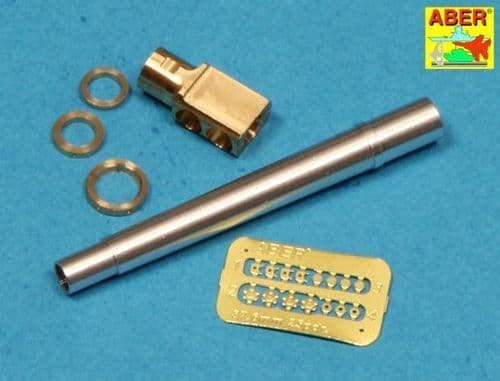 Aber 1/35 Late Barrel MK2 with Muzzle Brake for British 25pdr Field Gun # 35L127