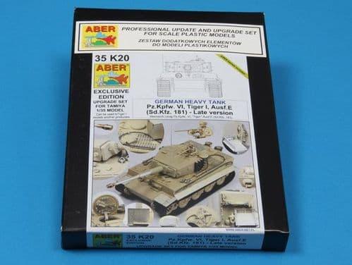 Aber 1/35 Pz.Kpfw.VI Tiger I Ausf.E (Sd.Kfz.181) Late Version Upgrade Set # 35K20
