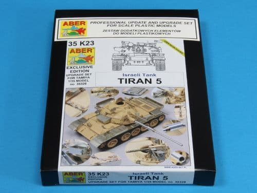 Aber 1/35 Tiran 5 Israeli Tank Upgrade Set # 35K23