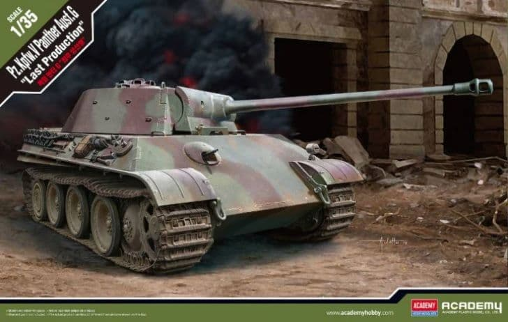 """Academy 1/35 Pz.Kpfw.V Panther Ausf. G """"Last Production"""" # 13523"""