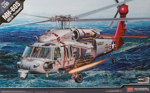Academy 1/35 U.S. Navy MH-60S HSC-9 'Tridents' # 12120