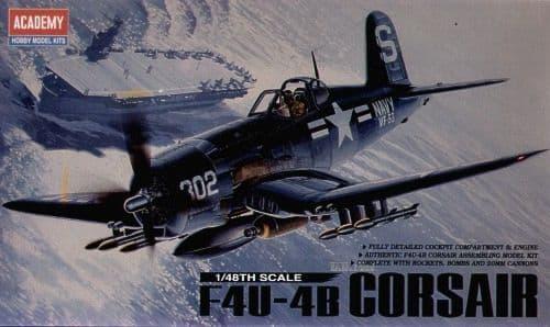 Academy 1/48 F4U-4B Corsair # 12267