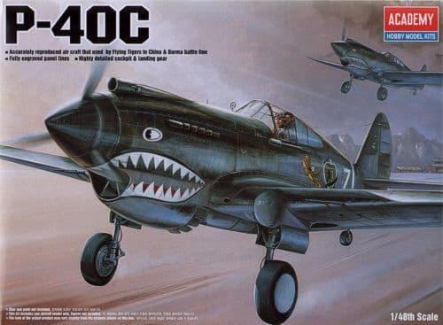Academy 1/48 P-40c Tomcat # 12280