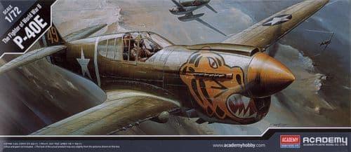 Academy 1/72 Curtiss P-40E Warhawk # 12468