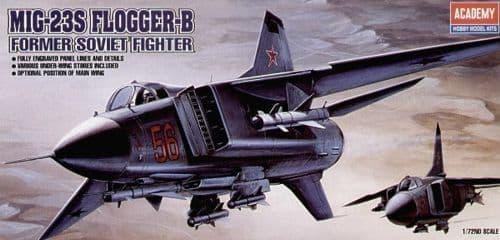 Academy 1/72 Mikoyan MiG-23S Flogger B # 12445