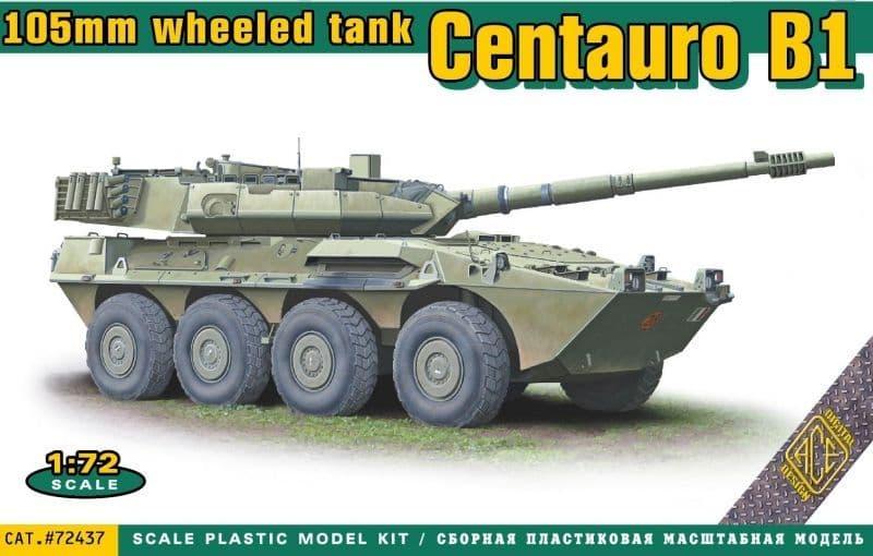 Ace 1/72 Centauro B1 105mm Wheeled Tank # 72437