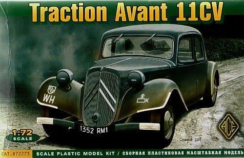 Ace 1/72 Citroen Traction Avant 11CV # 72273