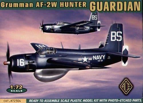 Ace 1/72 Grumman Guardian AF-2W Hunter # 72304