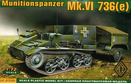 Ace 1/72 Munitionspanzer Mk.VI 736(e) # 72520