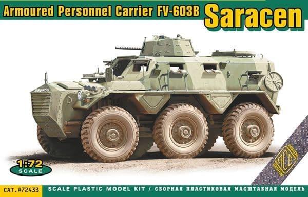 Ace 1/72 Saracen FV-603B Armoured Personnel Carrier # 72433