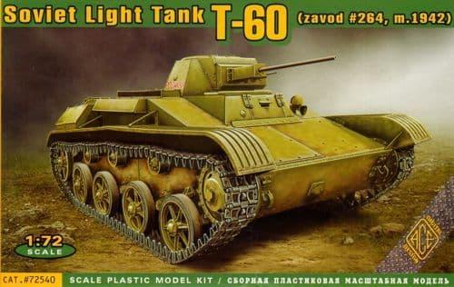 Ace 1/72 Soviet T-60 Light Tank # 72540