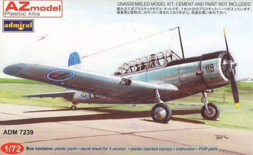 "Admiral 1/72 Vultee BT-13 Valiant ""Latin America"" # 7239"