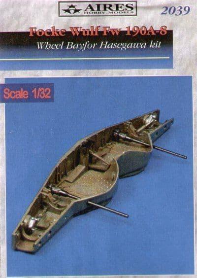 Aires 1/32  Focke Wulf Fw190A-8 Wheel Bay # 2039