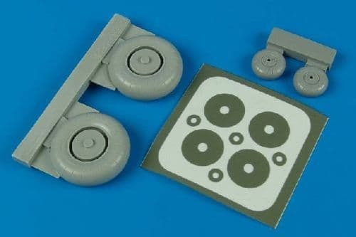 Aires 1/32  Junkers Ju87G Wheels and Paint Masks # 2048